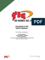 Advanced OTDR Manual-RevK