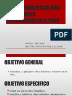 Obras Hidraulicas en El Perú