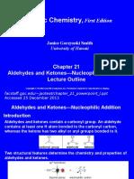 Aldehyde Ketone Nucleophilic Addition
