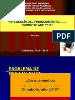 Modelo a Presentar Diapositiva Proyecto Tesis 2016