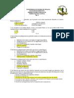 Examen Final de Farmacología Enero-Junio 2014 Tipo a Contestado
