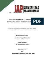 Populismo y Neopopulismo en El Perú