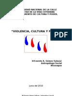 """""""Violencia, Cultura y Poder"""""""