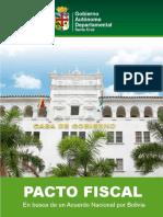 Propuesta Pacto Fiscal Santa Cruz