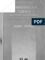 Heady Administracion Publica Comparada Completo