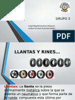 Llantas y Rines