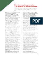 Zemán-PRINCIPIOS DE PRECAUCIÓN-PREVENCIÓN-TRANSPARENCIA Y NO REGRESIÓN EN OGM - copia.pdf