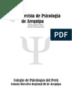 Evista de Psicologia de Arequipa 2014