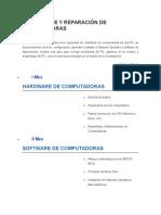 Ensamblaje y Reparación de Computadoras-metropolitno