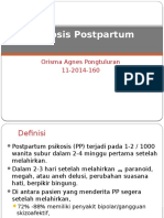 Psikosis Postpartum