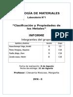 Lab 1 Tegnologia de Materiales