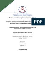 Aspectos Relevantes de La Implementacion Del TPM en Colombia