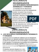 4 - DESCANSOS REMUNERADOS