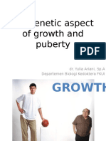 Genetic Aspect of Growth and Puberty