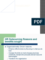What is Outsourcing