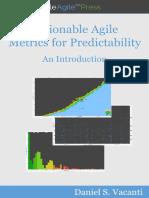 Actionable agile metrics Sample