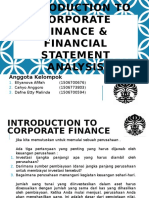 Kelompok 1 - Introduction to Corporate Finance