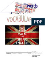Proyect of English