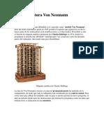 La Arquitectura Von Neumann
