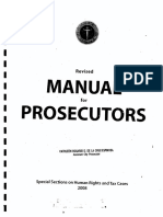 Manual for Prosecutors