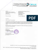 Circular for fixed deposits [Company Update]