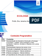 Aula 1 Ecologia