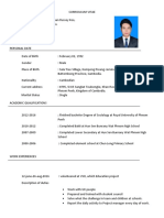 Curriculum Vitae Dara
