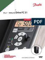 VLT Microdrive FC51 Quick Guide