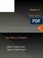 Chapter 4 Banking - Bank Loan