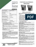 Manual Porteiro Eletronico JFL