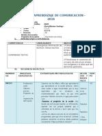 SESIÓN DE APRENDIZAJE DE COMUNICACION.docx