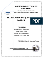 Elaboración de Queso Tipo Oaxaca