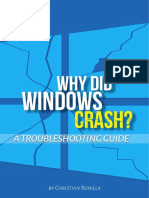 Why Did Windows Crash. a Troubleshooting Guide