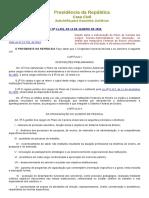 Lei Nº 11091 - Plano de Carreira - Técnico-Administrativos