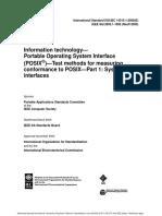 POSIX Documentation for OS
