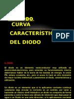 El diodo curva caracteristica del diodo