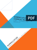 0400-6 PPT Nomenclature & Chemical Reactions