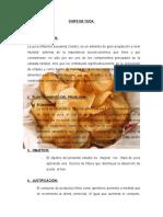 Proyecto Chips de Yuca