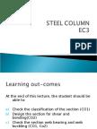 Column Steel Design
