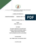 Proyecto de FISICA I Luz