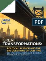 2016 APSA Final Program