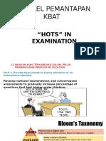 Hots in Examination