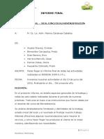 Informe Final Bodega Jhon Eirl