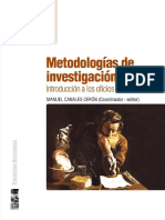 Metodologia de Investigacion Social