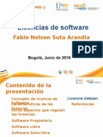 Licencias de Software Fabio Suta
