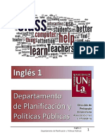 Ingles 1 - Depto PyPP - Lessons 1, 2, 3 and 4