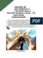 A Exposição Da Hierarquia Satânica e o Plano de Ha'Satan