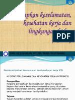 Menerapkan Keselamatan, Kesehatan Kerja Dan Lingkungan Hidup (k3lh)