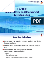 Lecture 1 Systems Roles and Development Methodologies
