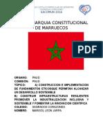 MONARQUIA CONSTITUCIONAL                     DE MARRUECOS.docx